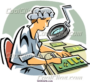computer technician clipart #12