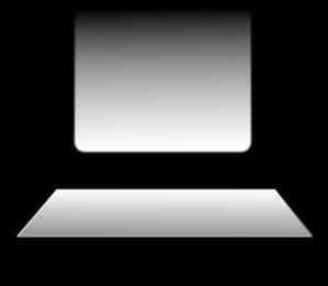 Computer Workstation Clip Art.