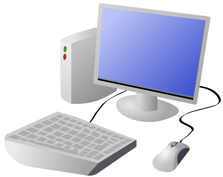 Computer Terminal Clip Art.