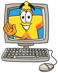 computer testing clipart #20