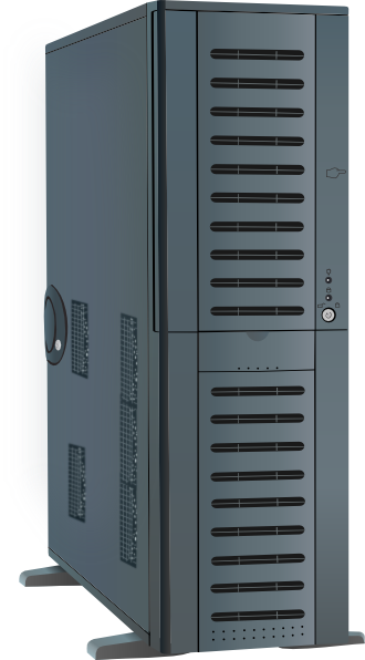 Computer Tower Case PNG Clip arts for Web.