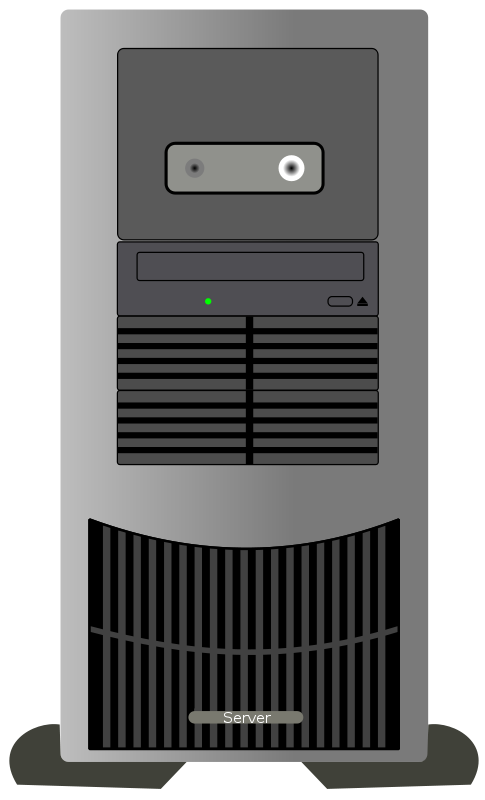 Free Clipart: Computer Tower.