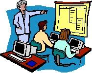 Computer Training Clipart.