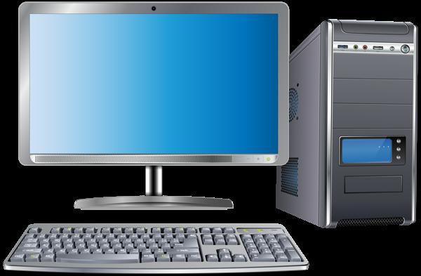 Computer Set Transparent PNG Clip Art Im #62476.