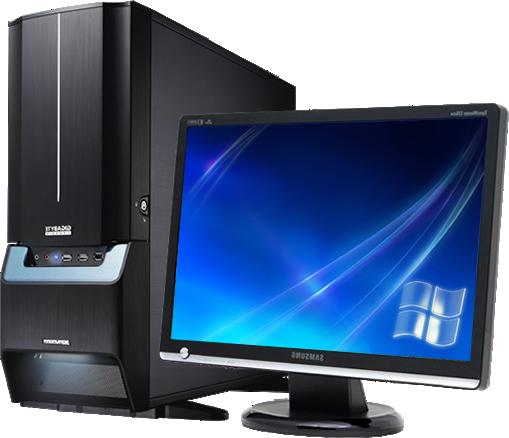Computer Desktop Pc Transparent PNG File.