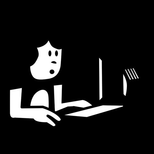 382 clipart laptop user.