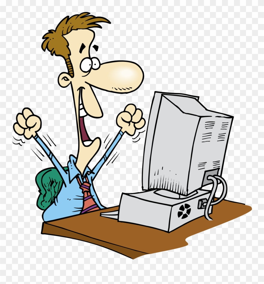 Employee Clipart Computer.