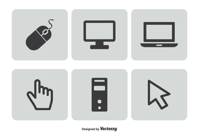 Computer Related Icon Set.