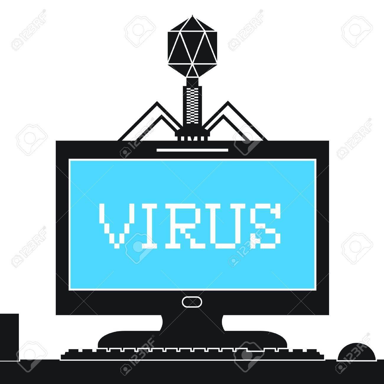Computer virus clipart 2 » Clipart Station.