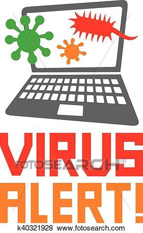 Computer Virus Icon #16643.