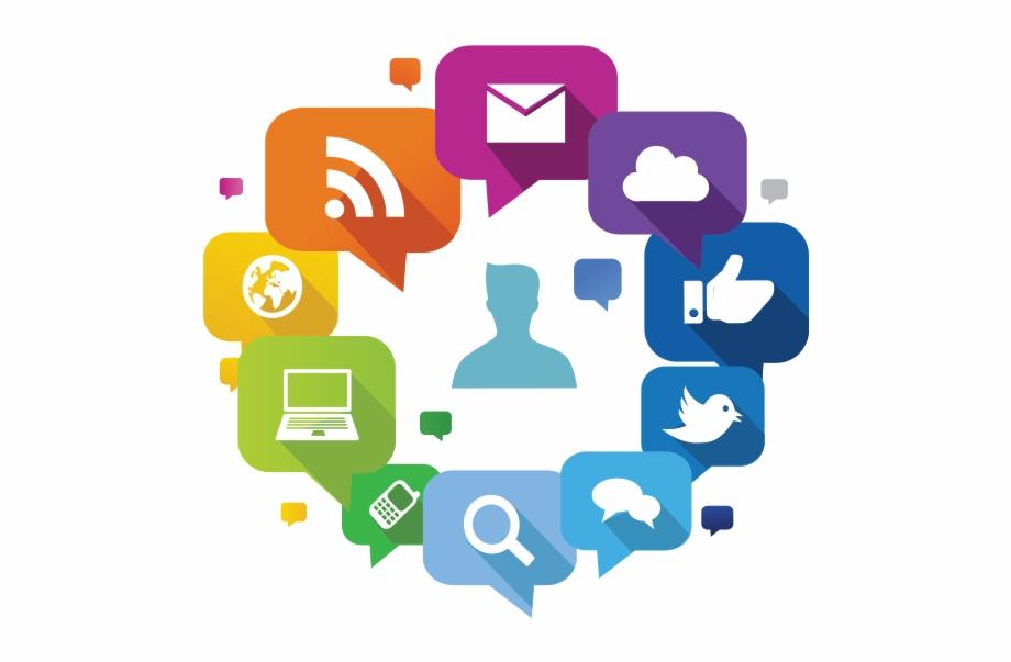 Social Media Marketing Graphic.