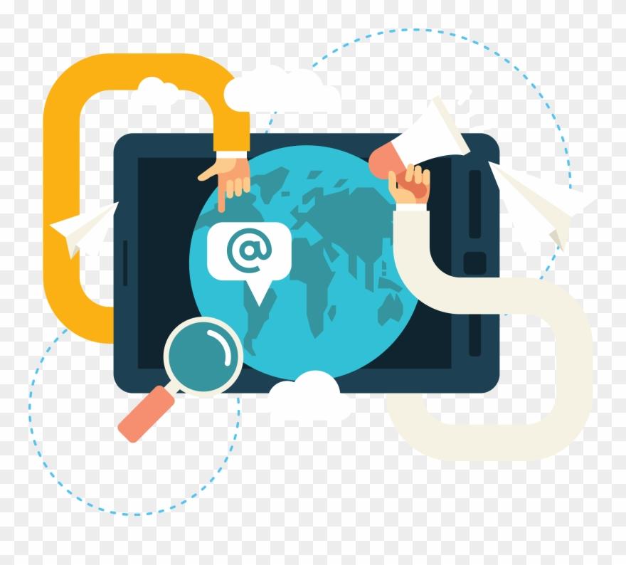 Marketing Clipart Media Technology.