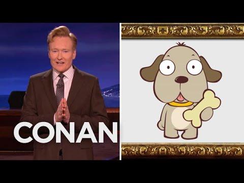 Conan o brien clipart.