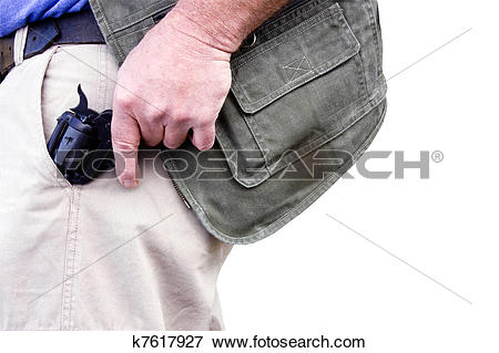 Picture of concealed weapon k7617927.