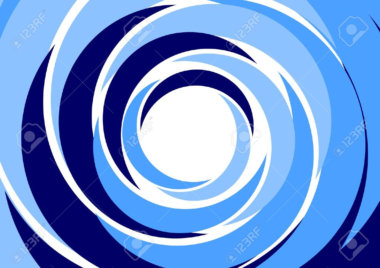 Concentric circles clipart.