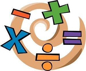 Kindergarten Math Concepts Clipart.