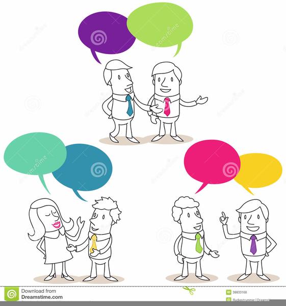 Difficult Conversations Clipart.