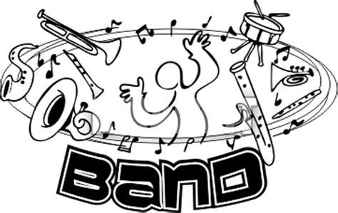 3d line drawings for concert band.
