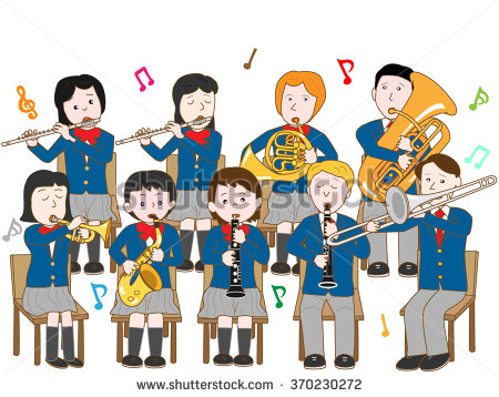 Band concert clipart 4 » Clipart Station.