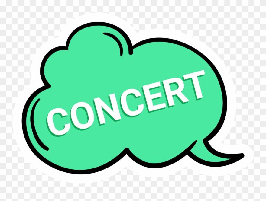 Music Concert Band Viza Sebu Mezzofreetoedit Clipart (#3842057.