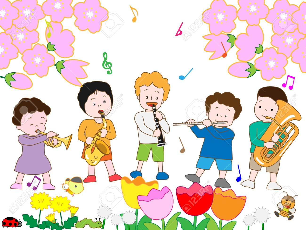 Spring concert clipart 7 » Clipart Station.
