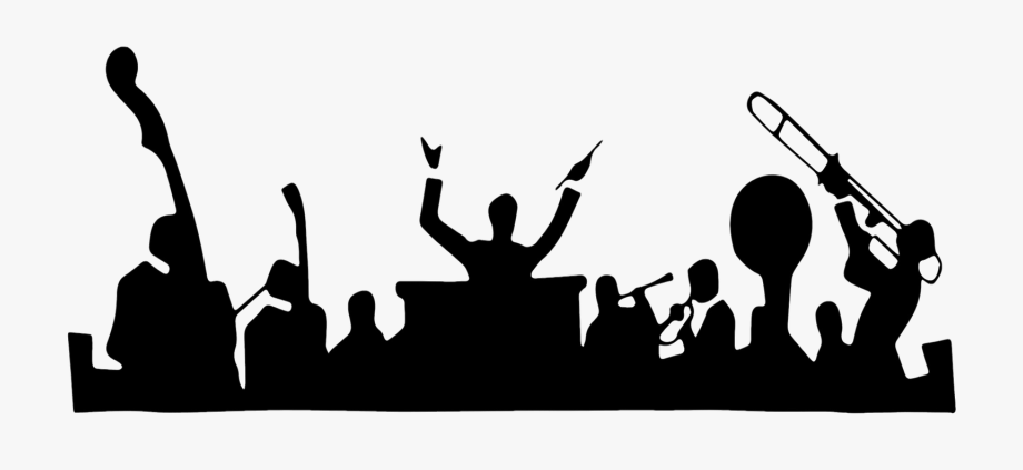 Concert Clipart Black And White, Cliparts & Cartoons.