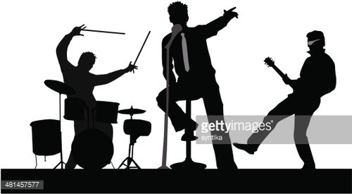 Playing Concert Clipart Image.