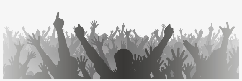 Concert Crowd Hands Png.