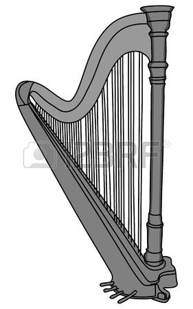 1,190 Concert Harp Stock Vector Illustration And Royalty Free.