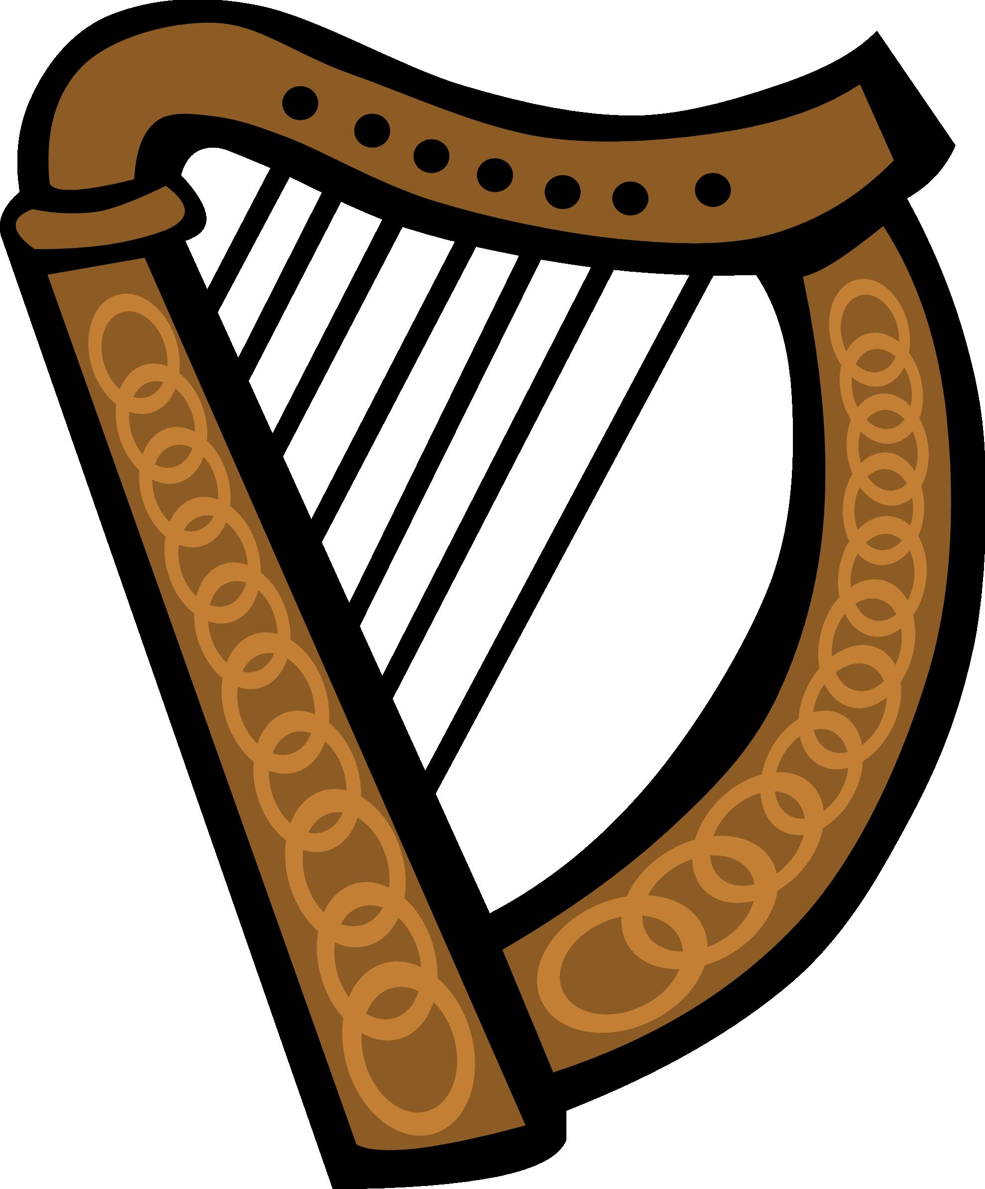 Harp Clipart.