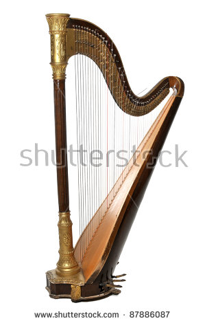 Harp Stock Photos, Royalty.