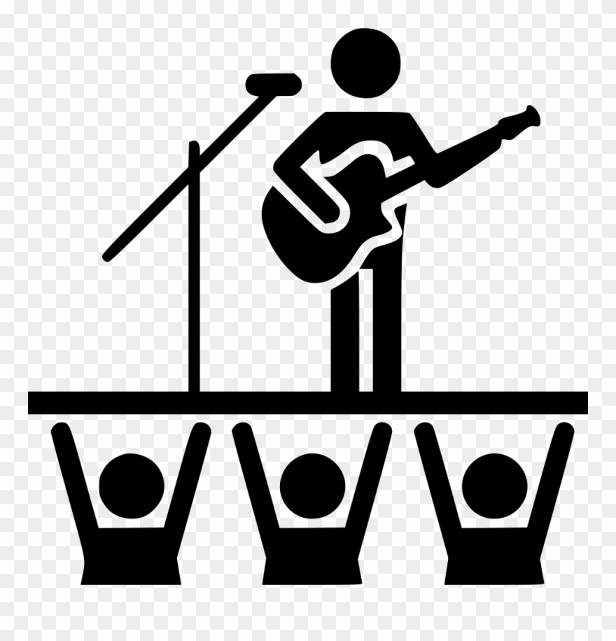 Concert Svg Png Icon Free Download 449302 Cinema Clipart.
