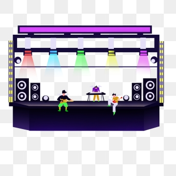 Concert Stage Png, Vector, PSD, and Clipart With Transparent.