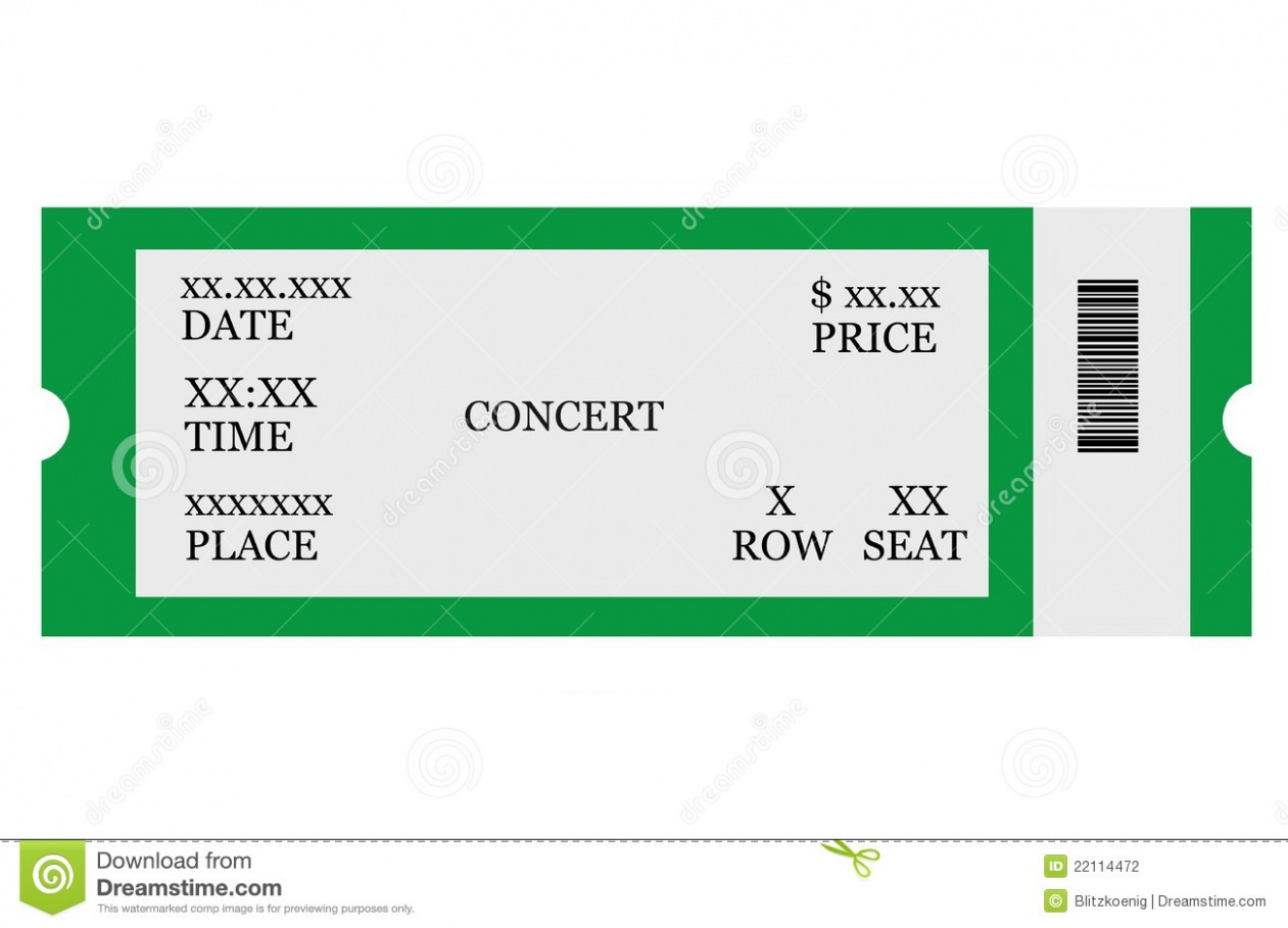 Download Blank Concert Ticket Clipart Clipart Suggest » Clipart Station.