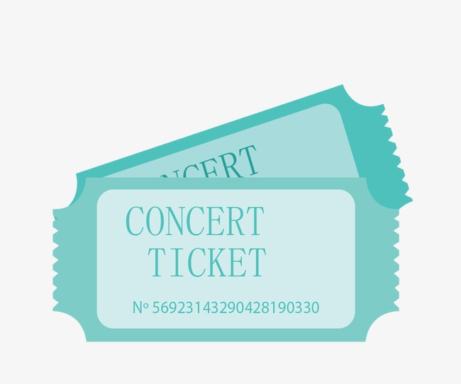 Concert Ticket Clipart (91+ images in Collection) Page 2.