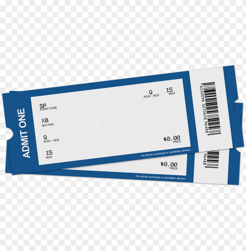 blank ticket clipart.
