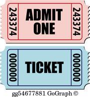 Concert Ticket Clip Art.