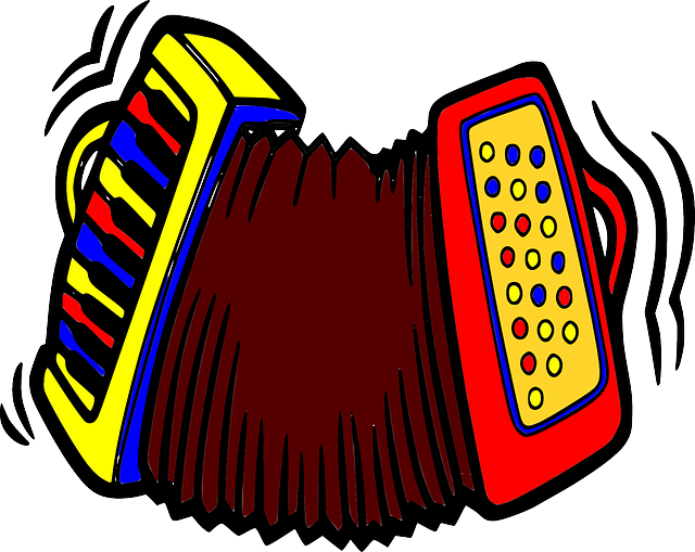 Free vector graphic: Accordion, Polka, Concertina, Music.