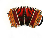 Russian Concertina Stock Photo.