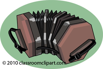 Musical Instruments : concertina.