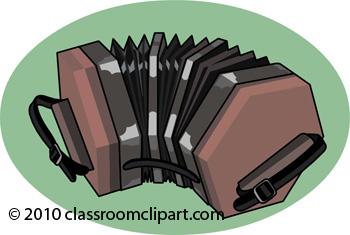 Musical Instruments : concertina.