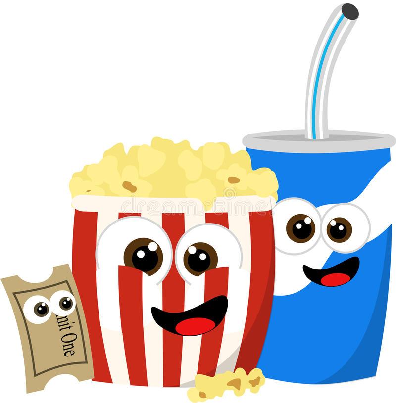 Concession Movie Stock Illustrations.