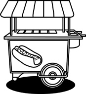55+ Concession Stand Clipart.