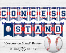 Baseball Concession Stand.