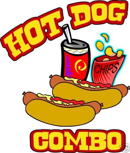 Details about Concession Hot Dogs Decal 7\