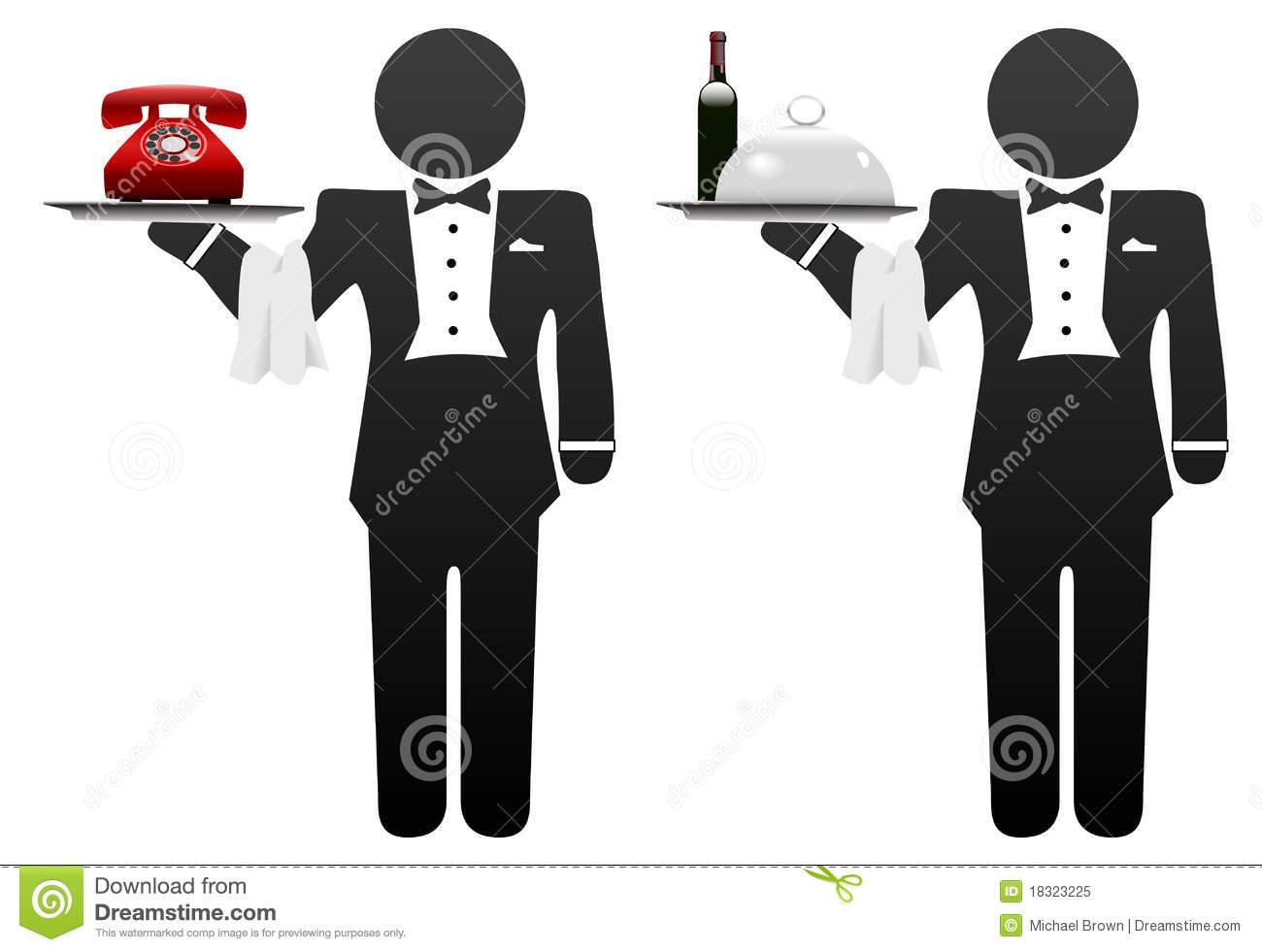 Concierge Stock Illustrations.