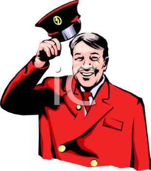 Concierge Clipart.