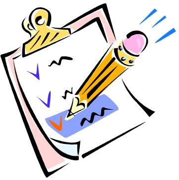 Writing Conclusion Clipart.