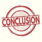 Conclusion Clip Art.