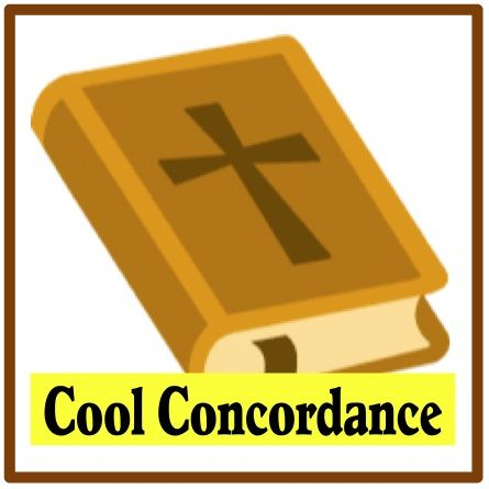 Concordance Bible Clip Art.